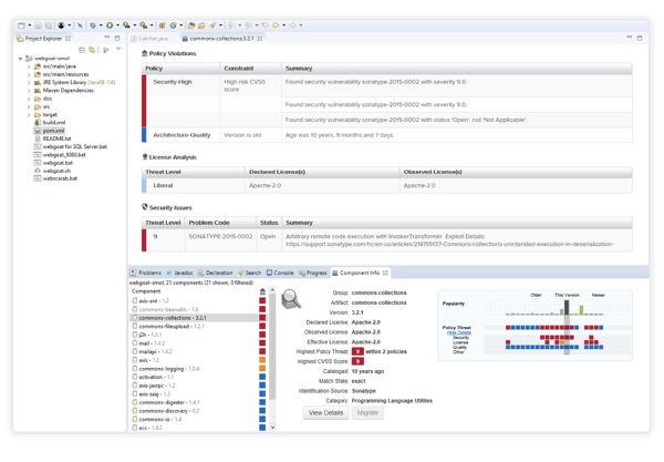 Shift Quality Control left with Nexus Lifecycle