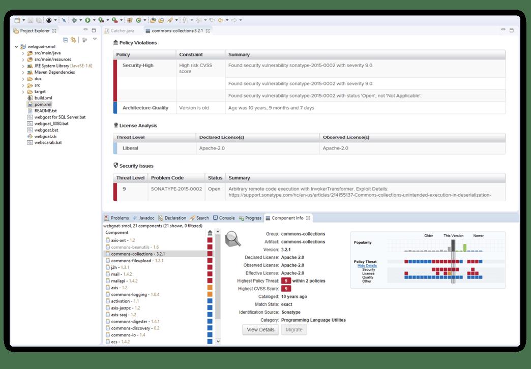 Open-Source-Daten in IDE