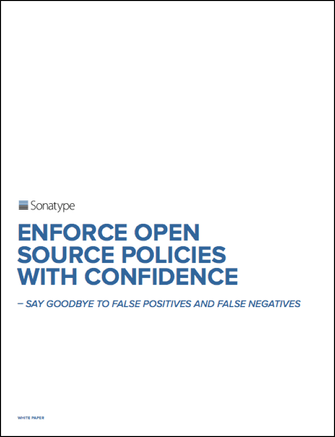 Enforce Open Source Policies with Confidence