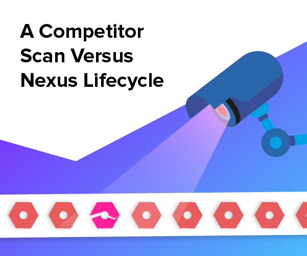 Comparatif entre Nexus Lifecycle et un concurrent