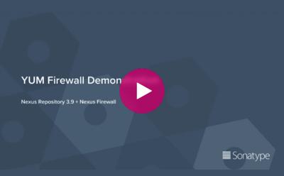 Nexus Firewall pour RPMYUM