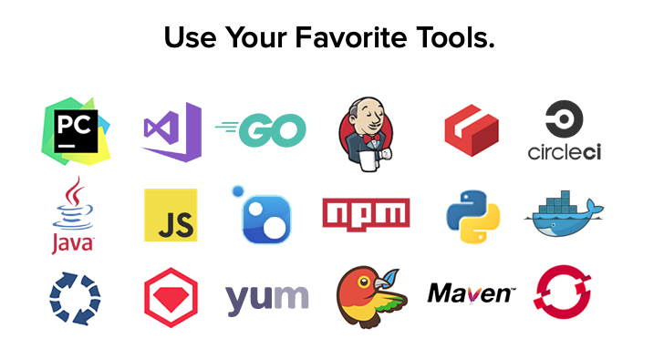 Use your favorite tools
