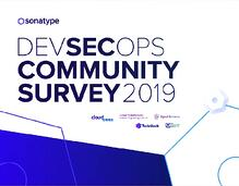 Étude auprès de la communauté DevSecOps 2019