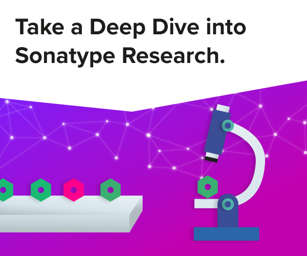 Take a Deep Dive into Sonatype Research