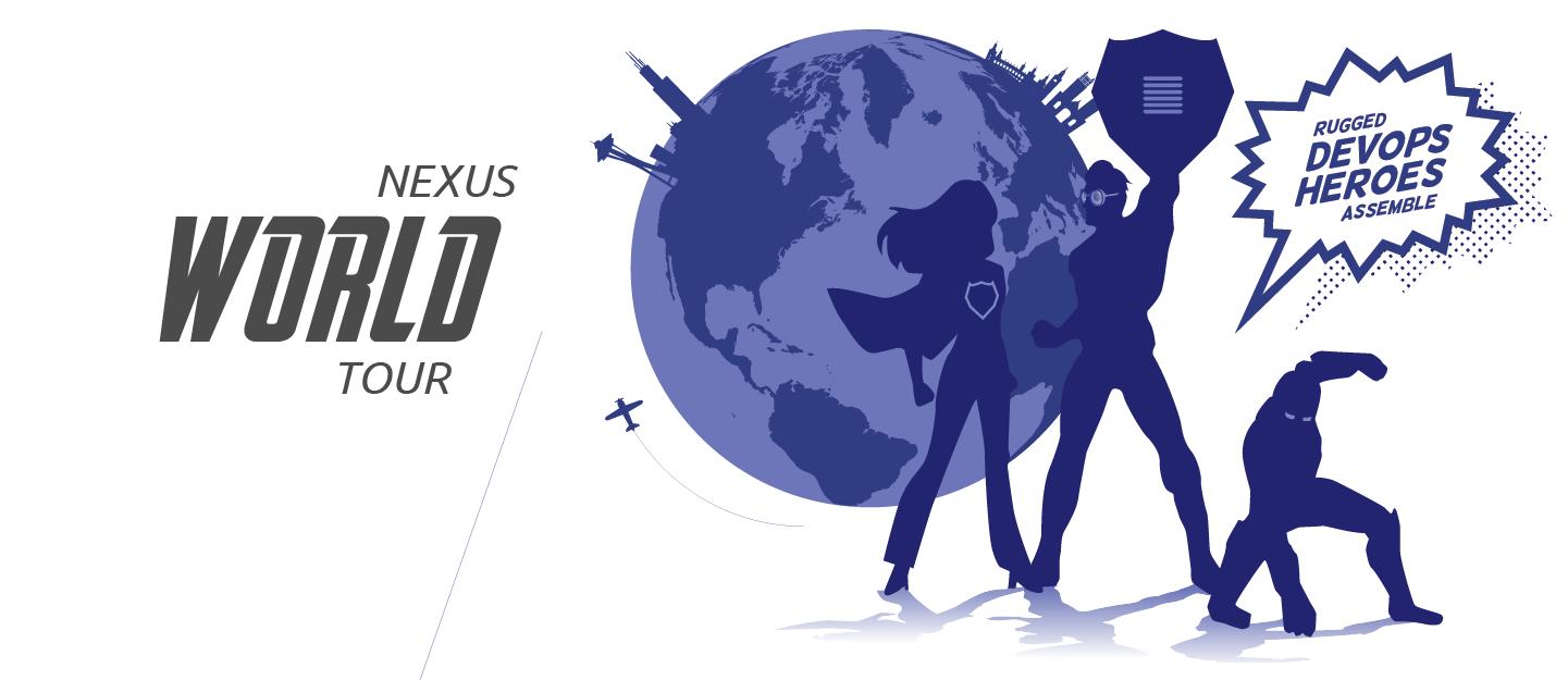 Nexus World Tour - Rugged DevOps Heroes Assemble