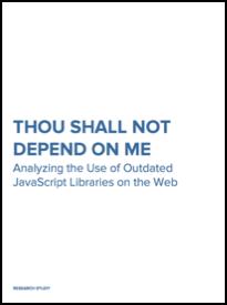 Thou Shall Not Depend on Me