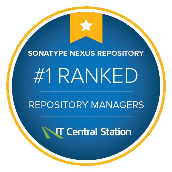 Sonatype Nexus Ranked #1