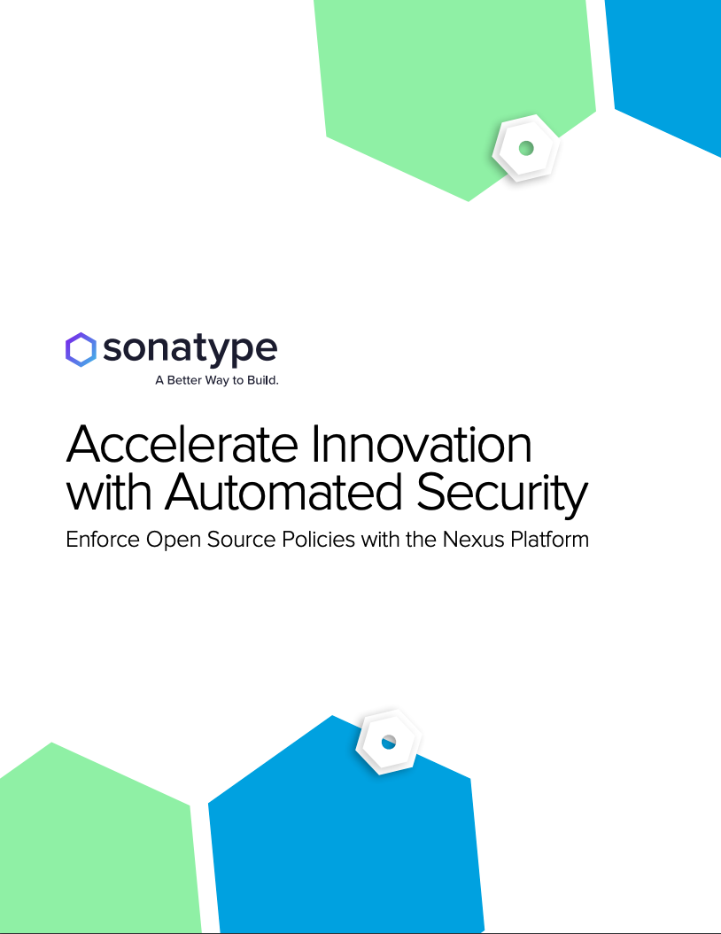 Accelerate Innovation with Automated Security