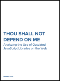 JavaScript: Thou Shall Not Depend On Me